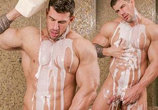 Zeb atlas in the shower